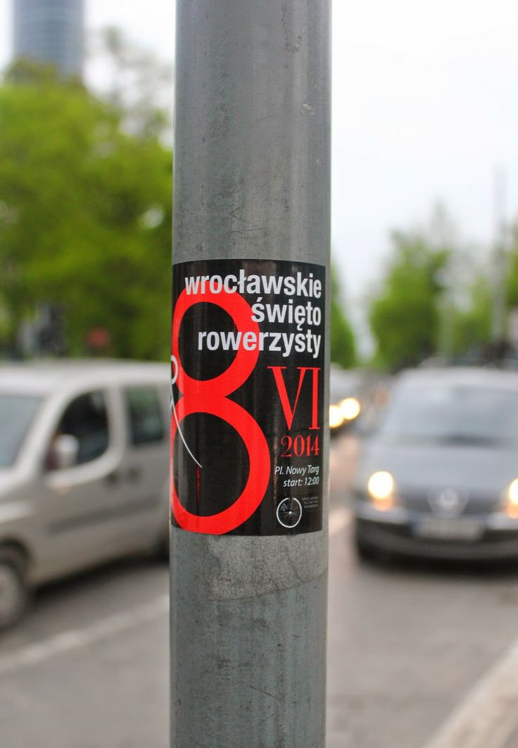 Wroclaw's Bicycle Day is coming.. 8th June 2014!
