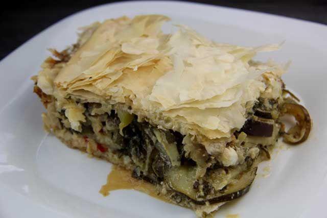 Vegetable Phyllo Pie (Island of Crete) - Mediterranean ...