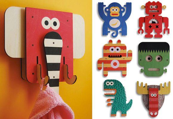 ART THINGYS // 3D wall art and shelf art for kids room