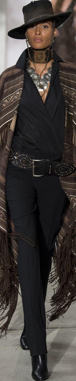 Ralph Lauren Fall 2106 Fashion Show & more details