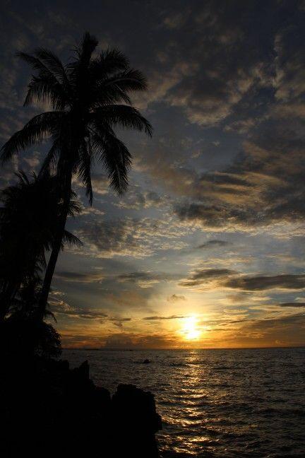 Sunset at Karang bolong, anyer, banten - Indonesia