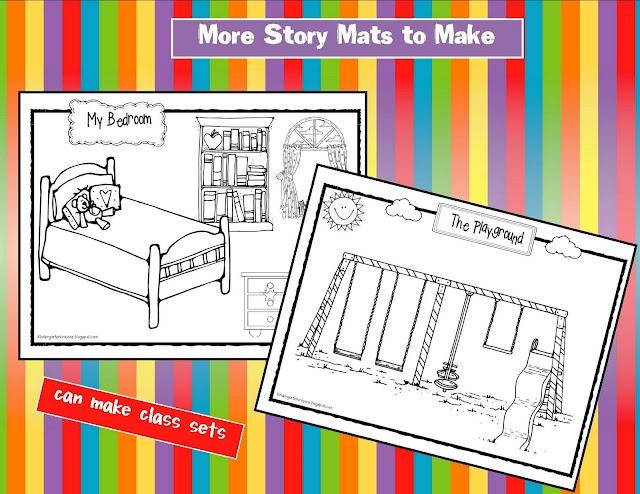 addition story mats
