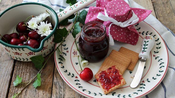 Confettura di ciliegie e spezie