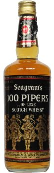 100 Pipers Deluxe blended whisky, bottled 1989 (my bottle is a 375mL)
