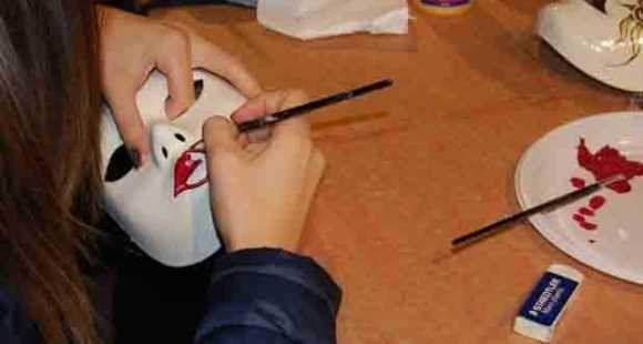 Expo Veneto: Decora la tua maschera veneziana!