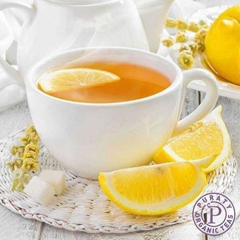 When life hands you lemons, make tea! #Healthy #Tea #Lemon