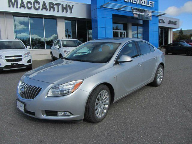 This sporty 2011 Buick Regal CXL proves why the new Buick isn't your granddaddy's Buick.