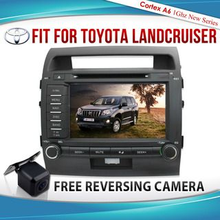 "8"" TOYOTA CAR GPS DVD Player Landcruiser 200 Series 07-13 Stereo Radio CDC BT"