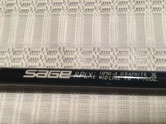 Ad Ebay Sage Rplxi 10 Wt Fly Rod Mint Condition Used Once Fly Rods Sage Rods Rod