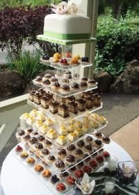 that is one damn good looking pastry tower! a great alternative to a wedding cake