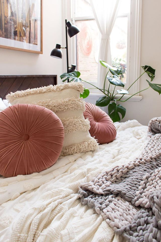 Our Pinwheel cushion is sitting pretty in