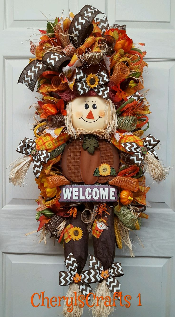 Best 25+ Fall swags ideas on Pinterest | Burlap fall decor ...
