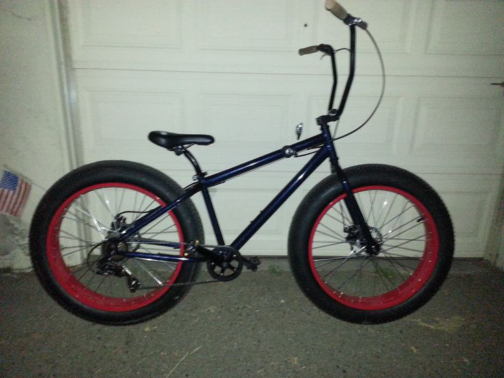 fat granny bicycle got