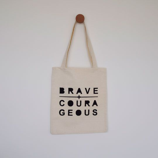 Made By Mee + Co | Brave + Courageous Tote