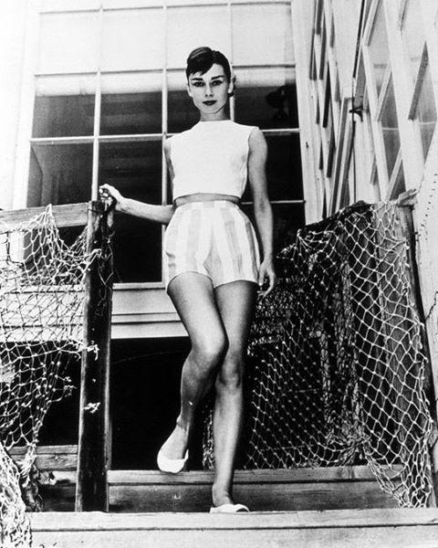 Audrey Hepburn, c. 1956.