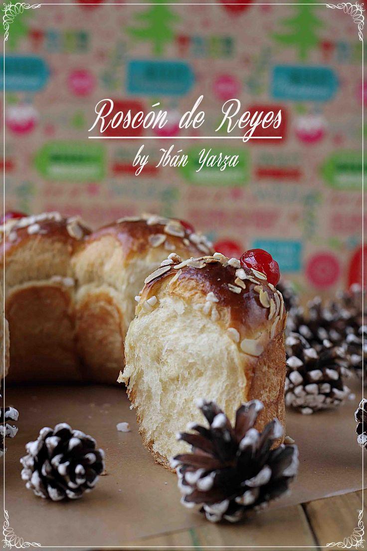 Roscón de Reyes, versión Ibán Yarza {by Paula, Con las Zarpas en la Masa}