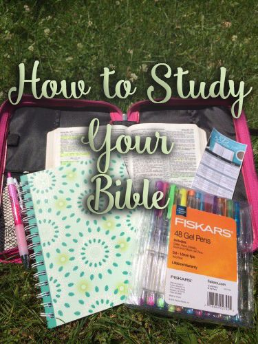 How to study your Bible as a busy wife and mother. We are living in a fast paced society - these helpful tips will help you find time to get into God's Word every day!