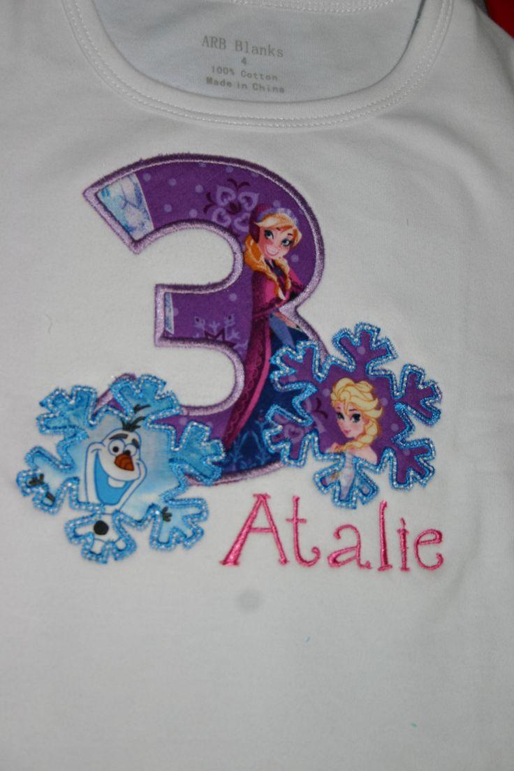 Ari's Angels Personalized Girls Frozen Birthday by ArisAngels