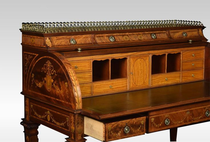 angol klasszicista antik bútor eladó, írószekreter
