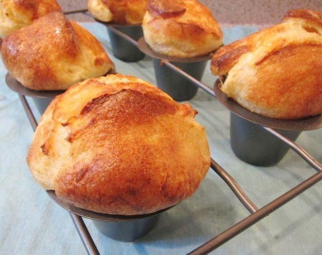 Gruyere Popovers from BLT Steak | Recipes | Pinterest