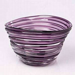 CaRRoL BoYeS Carrol Boyes Glass Vase - Whirlwind Can also be used as a salad bowl...very heavy and chunky!
