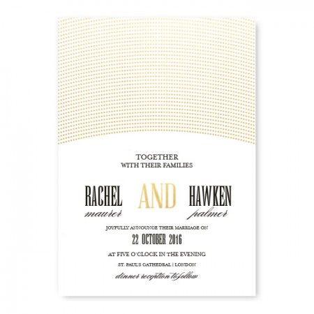 Ellington Wedding Invitations - Real Foil Invitation!