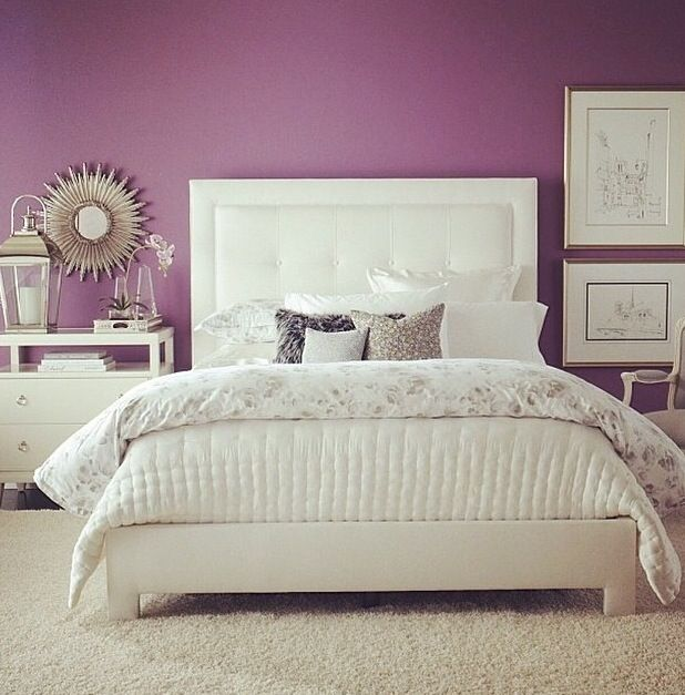 Magenta Home Decoration: 1000+ Ideas About Magenta Bedrooms On Pinterest