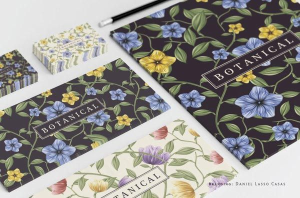 Botanical - Branding and Illustration by Daniel Lasso Casas