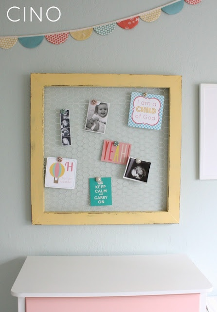 Wood & Wire Display Frame (Craftiness is not Optional), plus free printables