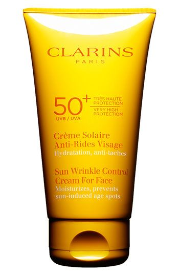 Clarins 'Sun Wrinkle Control' Cream For Face SPF 50+ available at #Nordstrom