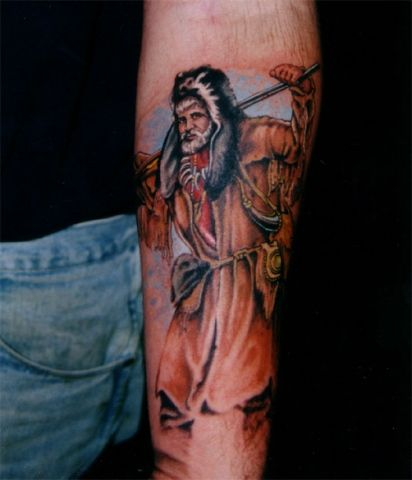 11 best tattoo images on pinterest tattoos for men for Mountain man tattoo