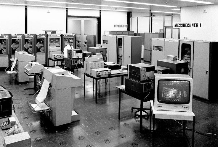 Datenverarbeitungszentrale 1967