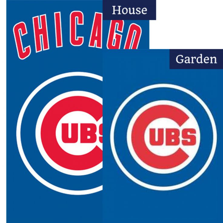 Chicago Cubs Flags Set (2 Pieces)