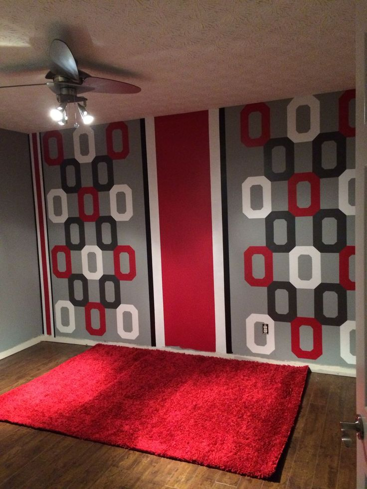 1 200 1 600 pixels basement ideas pinterest logos for Ohio state bedroom paint ideas