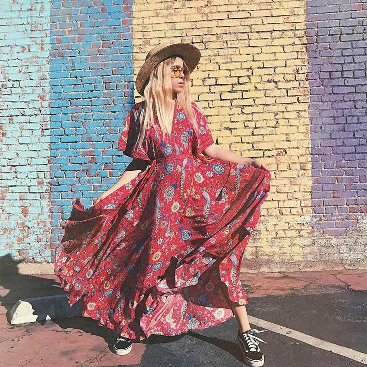 Boho стиле 2017 летние платья экзотический цветочный печати v образным вырезом maxi dress шнурок талии силуэт длинные женские dress vestidosкупить в магазине Stars Cielo ClothingнаAliExpress