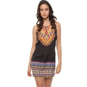 Sass - Go Native Shift Dress - Dresses (Mosaic Print)