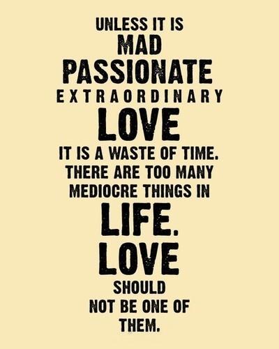 Mad passionate love