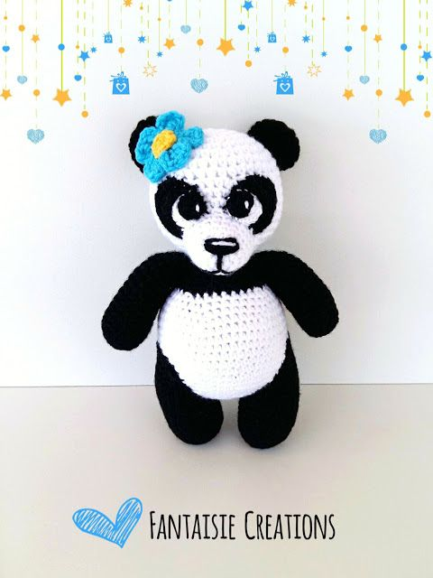 Fantaisie Creations: Baby panda