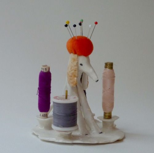 ceramic pin cushion
