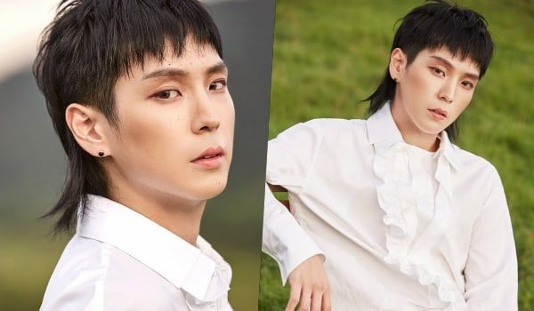 In Defense Of The Mullet 11 Idols Who Prove That This Hairstyle Is A Blessing To K Pop Soompi Kpop Hair Mullets Mullet Hairstyle