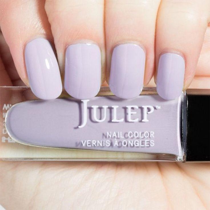 Julep POSEY Nail Color Treat Polish Lavender Fog Creme BNIB #Julep