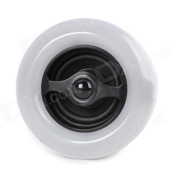 www.dx.com  E27 9W 360lm 5000K 36-LED White Light Bulb w / Bluetooth Speaker - Wit