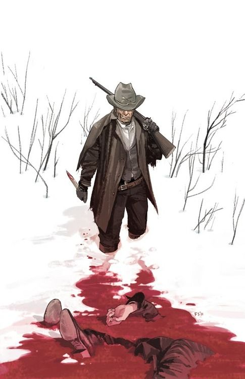 Falconers - dramatic moment reference   www.thefalconers.wordpress.com  Jonah Hex by Fiona Staples