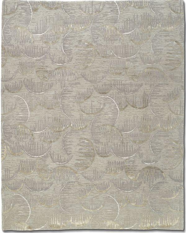 Tufenkian Heavenly Silver Wool And Silk