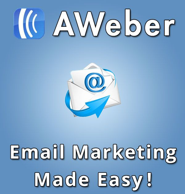 AWeber is best email marketing service and is used by the top internet marketers around the world. If you are serious about your email marketing then AWeber is definitely for you!