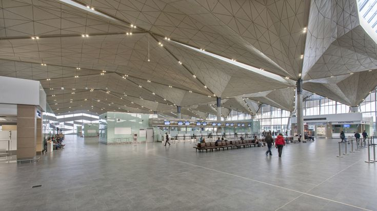 Gallery of Pulkovo International Airport / Grimshaw Architects + Ramboll + Pascall+Watson - 14