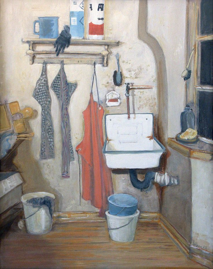 Holger Hattesen: Küche (1987)