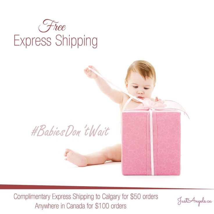 Shop for natural baby & maternity products online in Canada @justangelsca | Free Express Shipping for orders over $50 #FreeShipping #Baby #Canada