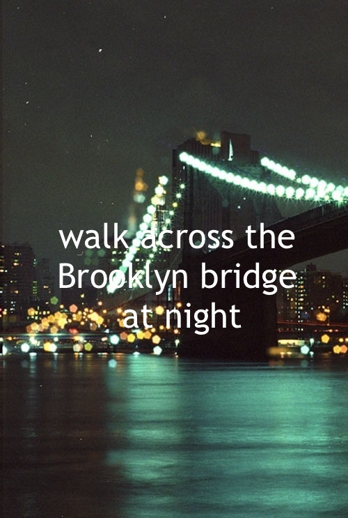 I've done this during the day, def want to redo this with the NYC lights as a backdrop.