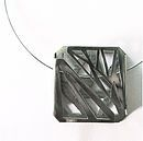 Ana Bragança Jewellery Design. Bipolar Mood Pendant // Sterling Silver